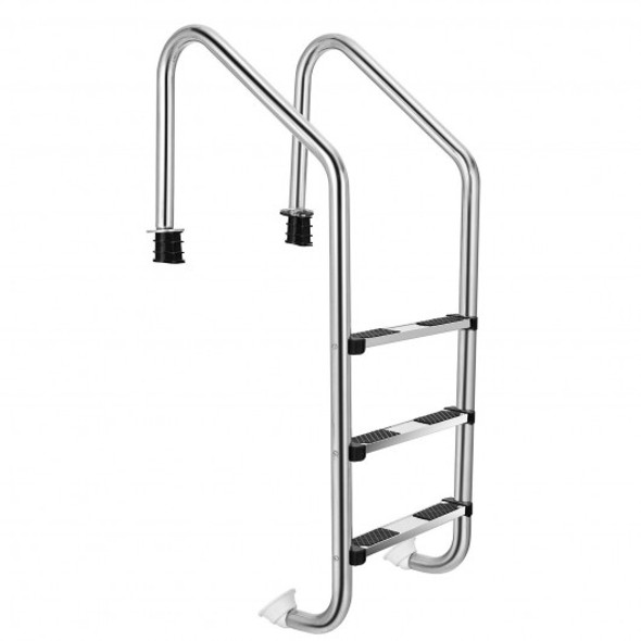 Stainless Steel Swimming Pool Ladder with Anti-Slip Step