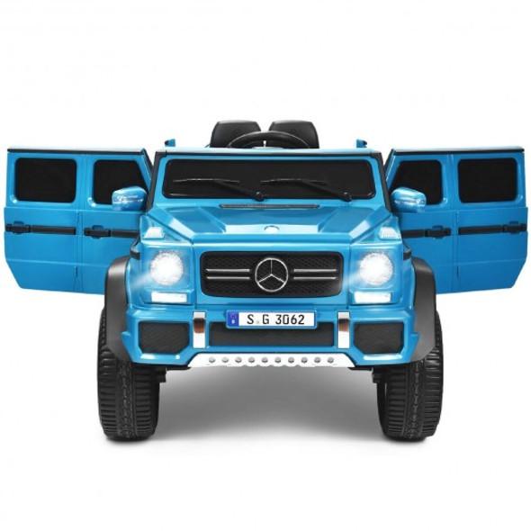 12V Licensed Mercedes-Benz Kids Ride On Car-Navy