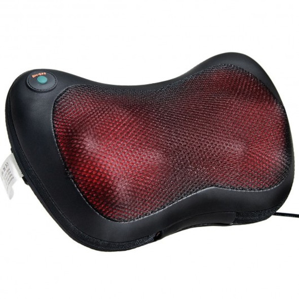 Shiatsu Pillow Massager with Heat Deep Kneading for Shoulder  Neck and Back