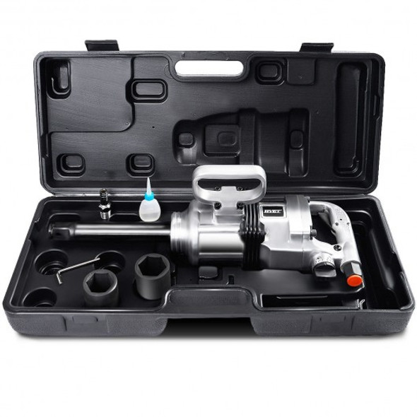 """Heavy Duty 1"""" Air Impact Wrench Gun with Case"""