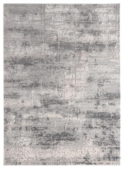 """118"""" x 158"""" Grey Polyester / Olefin Oversize Rug"""