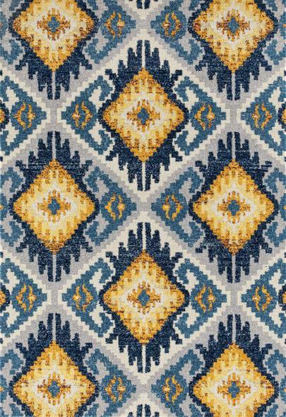 "118"" x 158"" Midnight Blue Olefin / Frieze Rug - 366519"