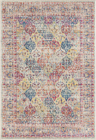"""118"""" x 158"""" Multicolor Olefin / Frieze Rug"""