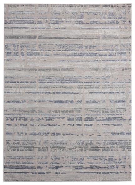 "118"" x 158"" Blue Polyester / Olefin Oversize Rug - 367905"