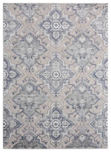 "118"" x 158"" Blue Polyester / Olefin Oversize Rug - 367898"
