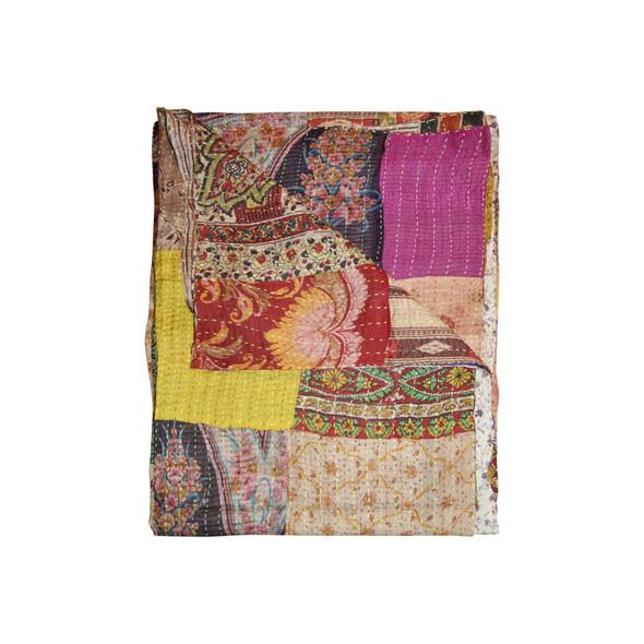 """60"""" x 90"""" Silk Multicolor Throws - 358029"""