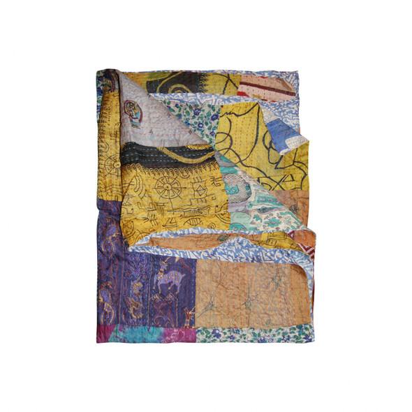 """60"""" x 90"""" Silk Multicolor Throws - 358028"""