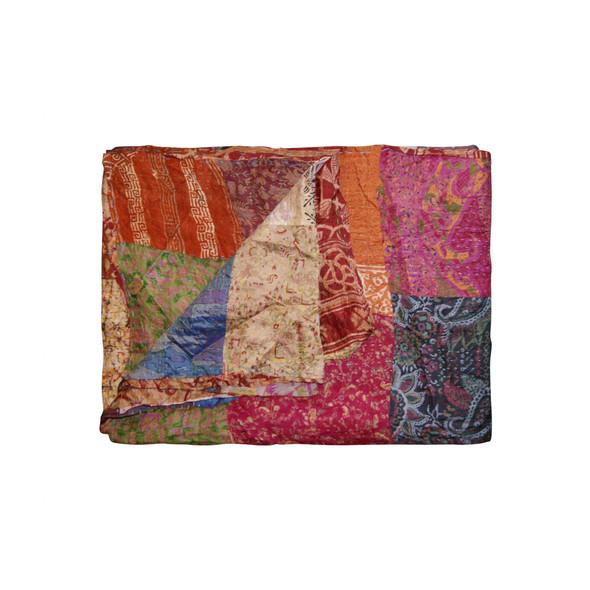 """60"""" x 90"""" Silk Multicolor Throws - 358027"""