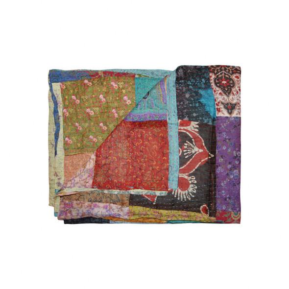 """60"""" x 90"""" Silk Multicolor Throws - 358026"""