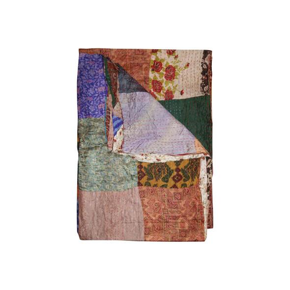 """60"""" x 90"""" Silk Multicolor Throws - 358025"""