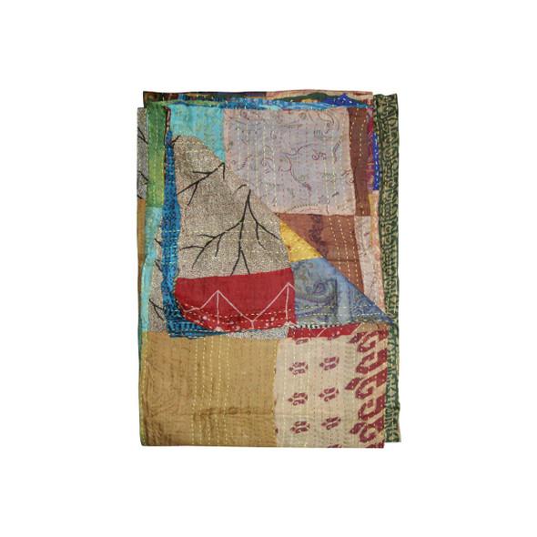 """60"""" x 90"""" Silk Multicolor Throws - 358024"""