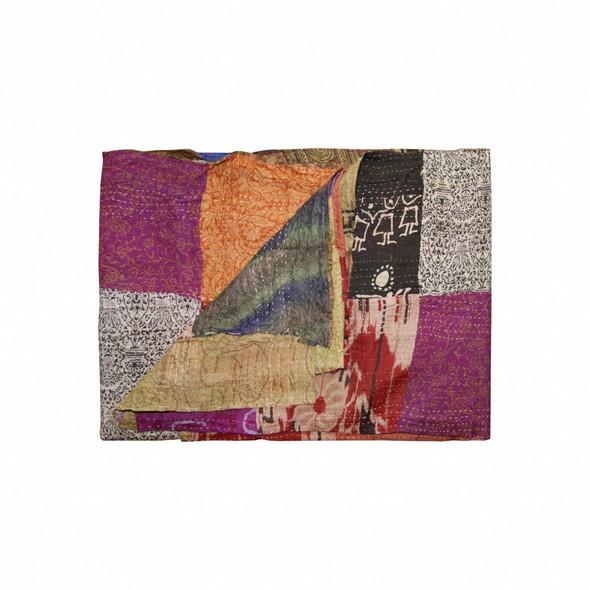 """60"""" x 90"""" Silk Multicolor Throws - 358023"""