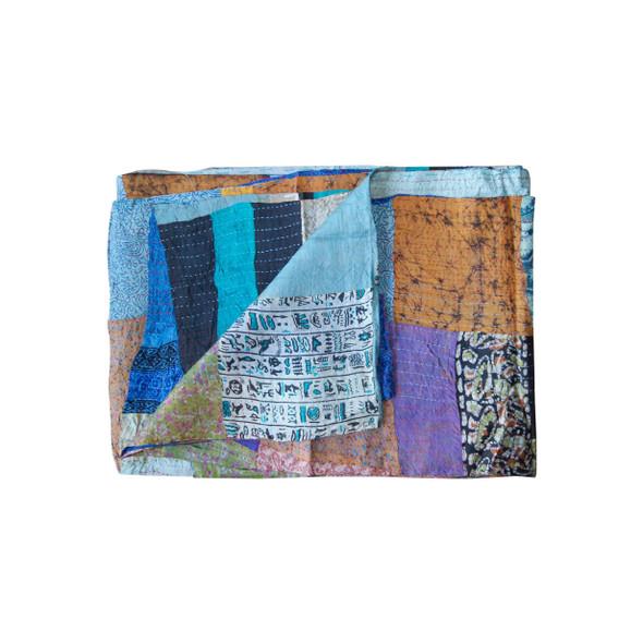 """60"""" x 90"""" Silk Multicolor Throws - 358022"""