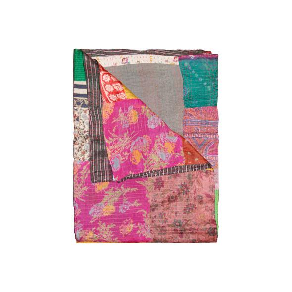 """50"""" x 70"""" Silk Multicolor Throws - 358036"""