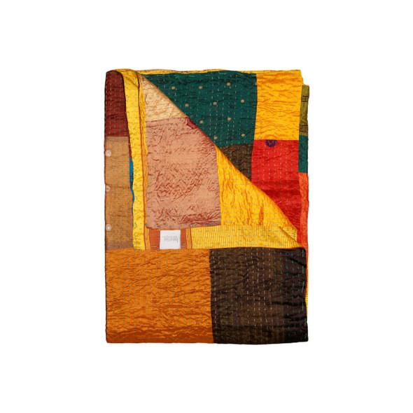 """50"""" x 70"""" Silk Multicolor Throws - 358035"""