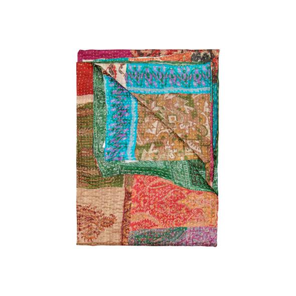 """50"""" x 70"""" Silk Multicolor Throws - 358034"""