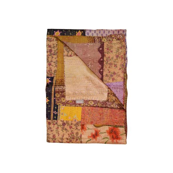 """50"""" x 70"""" Silk Multicolor Throws - 358033"""