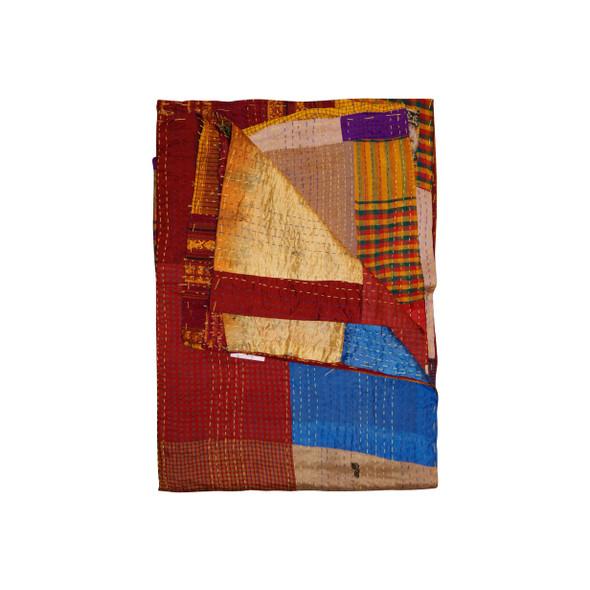 """50"""" x 70"""" Silk Multicolor Throws - 358032"""