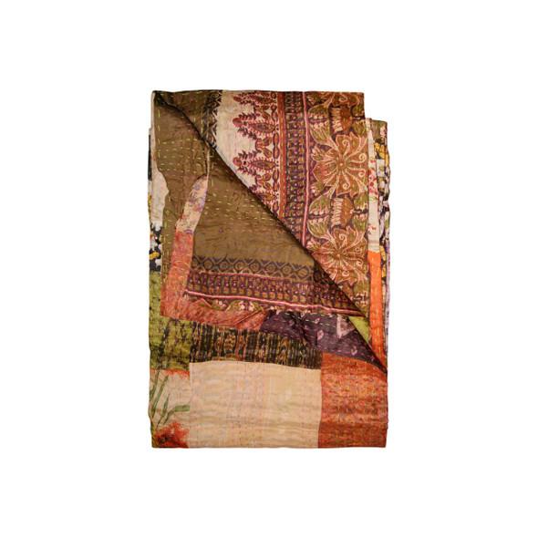 """50"""" x 70"""" Silk Multicolor Throws - 358050"""