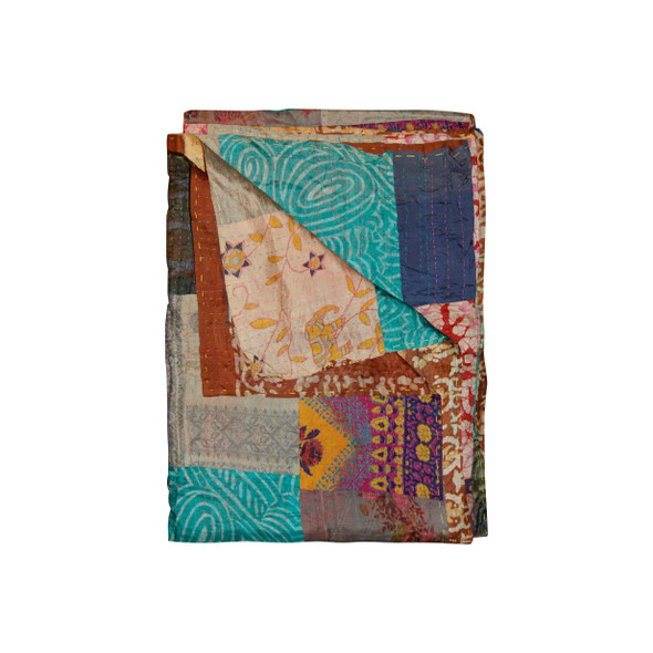 """50"""" x 70"""" Silk Multicolor Throws - 358049"""
