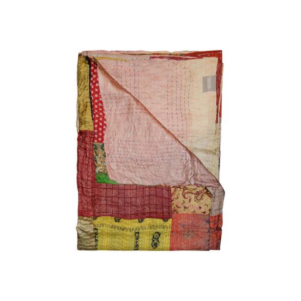 """50"""" x 70"""" Silk Multicolor Throws - 358048"""