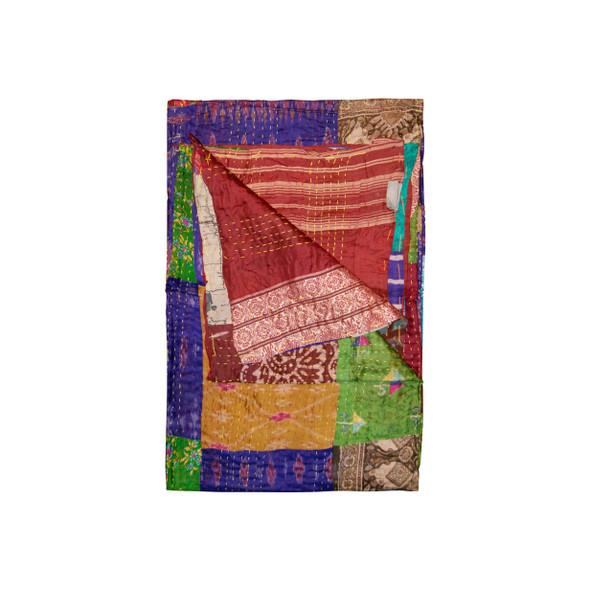 """50"""" x 70"""" Silk Multicolor Throws - 358047"""