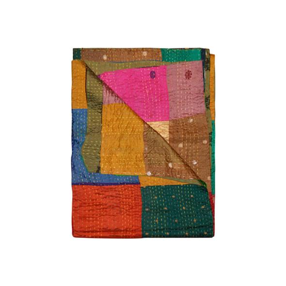 """50"""" x 70"""" Silk Multicolor Throws - 358044"""