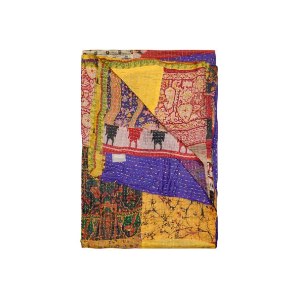 """50"""" x 70"""" Silk Multicolor Throws - 358042"""