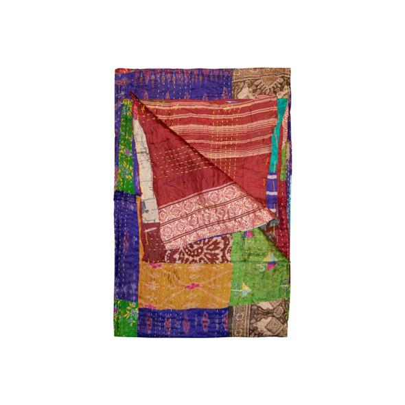 """50"""" x 70"""" Silk Multicolor Throws - 358040"""