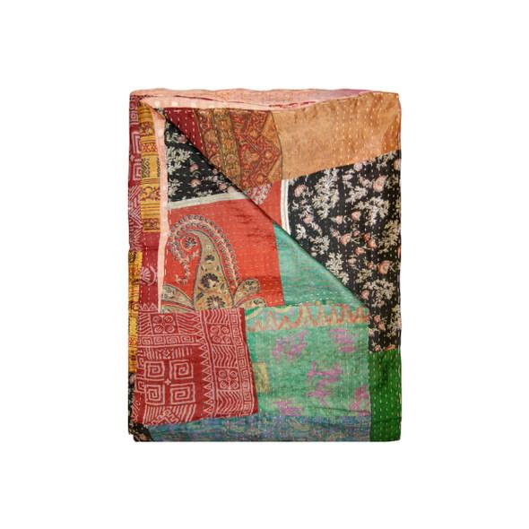 """50"""" x 70"""" Silk Multicolor Throws - 358054"""