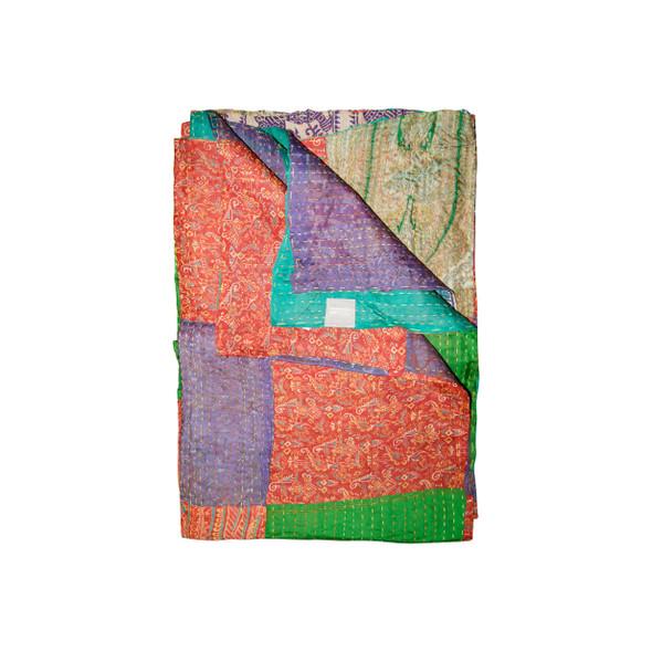 """50"""" x 70"""" Silk Multicolor Throws - 358053"""