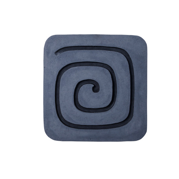 """1"""" x 19"""" x 19"""" Sandstone, Fine Polished, Square with Circles - Wall Decor"""