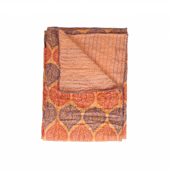 """50"""" x 70"""" Multi colored Eclectic Bohemian Traditional Throw Blankets - 357578"""