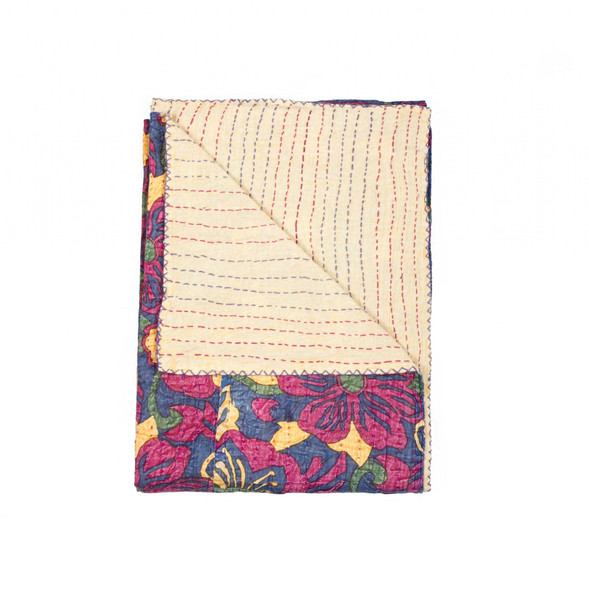 """50"""" x 70"""" Multi colored Eclectic Bohemian Traditional Throw Blankets - 357571"""