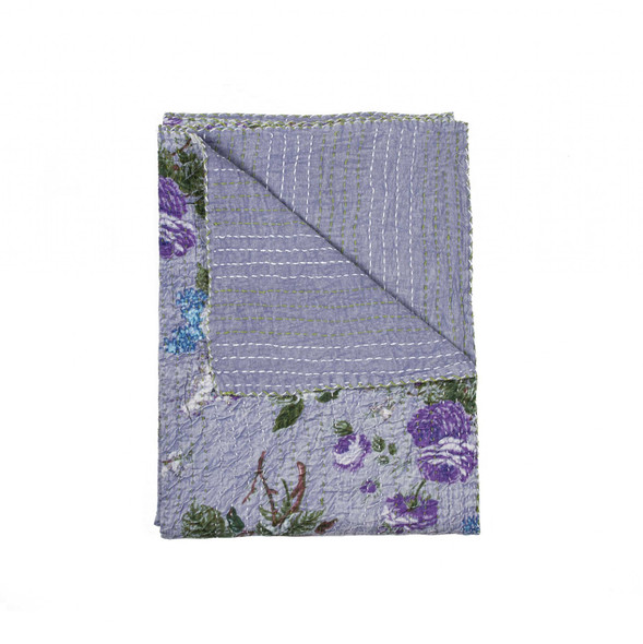 """50"""" x 70"""" Multi colored Eclectic Bohemian Traditional Throw Blankets - 357581"""