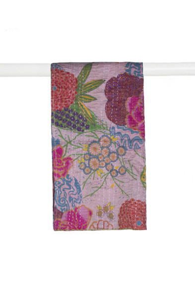 """18"""" x 72"""" Multi-colored Eclectic, Bohemian, Traditional - Scarf - 357596"""