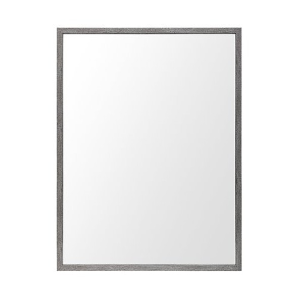 Rectangle Grey Accent Mirror with Driftwood Quality Frame - 380079