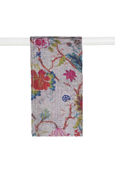 """18"""" x 72"""" Multi-colored Eclectic, Bohemian, Traditional - Scarf - 357605"""