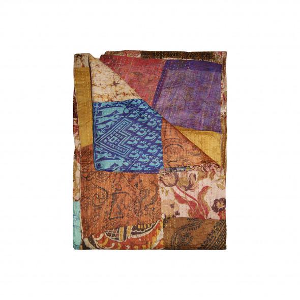 "60"" x 90"" Multicolor/Silk - Throw - 357611"