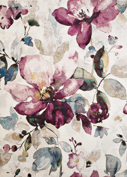 "118"" x 158"" Multicolor Olefin / Polyester Rug"