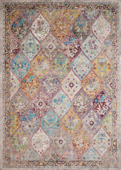 "118"" x 158"" Multicolor Olefin / Polyester Rug - 370919"