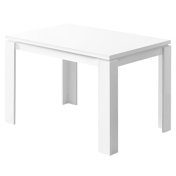 """48"""" X 32"""" X 30.5 """" White Dining Table"""
