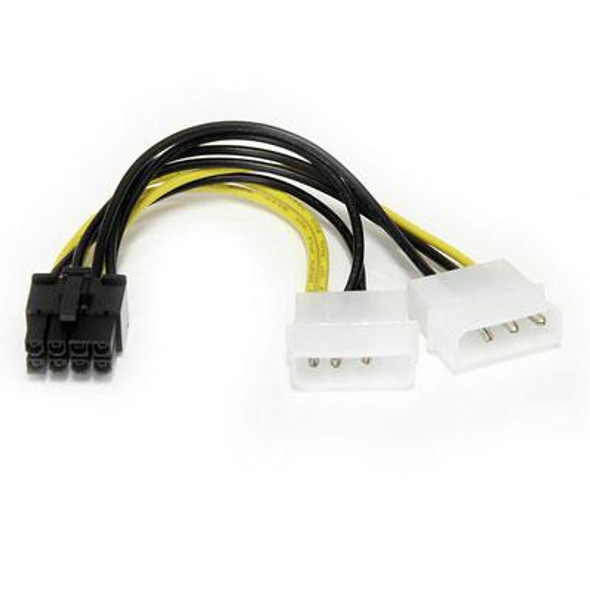 """6"""" LP4 to 8 P"""" PCIe Adapter"""