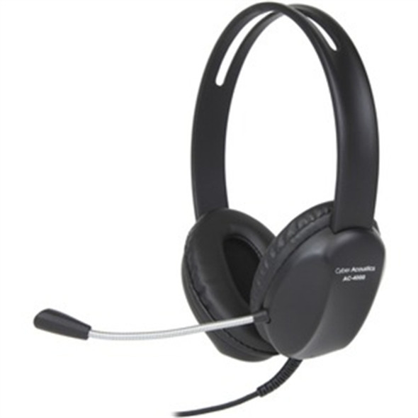 Stereo headset braided cord