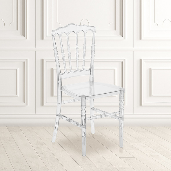 Clear Napoleon Stack Chair