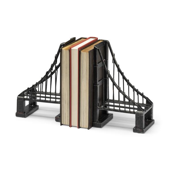 Vintage Look Suspension Bridge Bookends