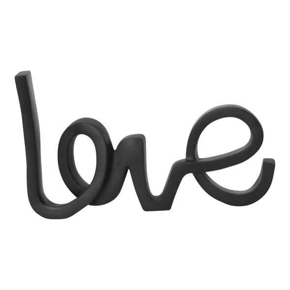 Modern Love Typography Tabletop Decor