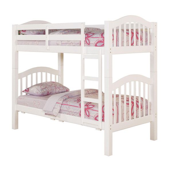 Heartland Twin/Twin Bunk Bed, White