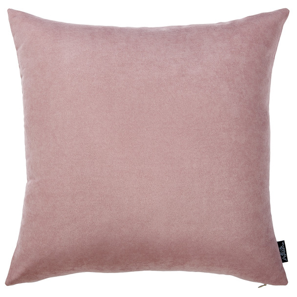"18""x18"" Light Pink Honey Decorative Throw Pillow Cover (2 pcs in set)"