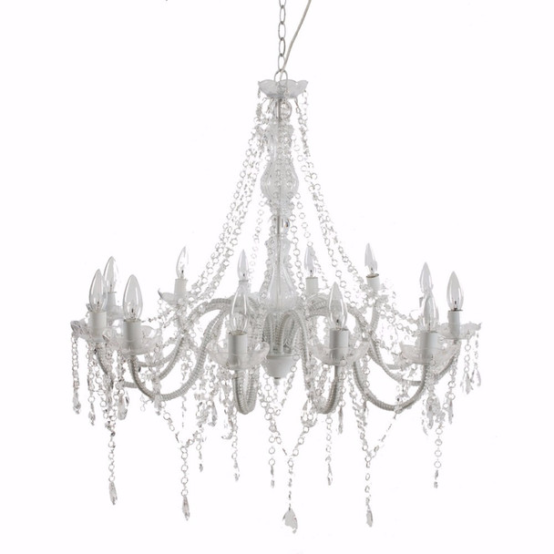 Highly Luxurious Beaded Chandelier